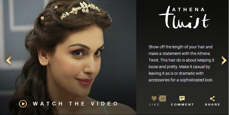 L'Oréal Paris India HAIR ART by 6 Oil Nourish AThena twist