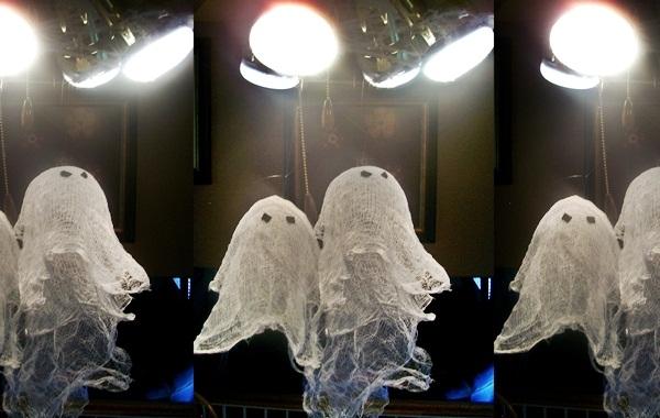 MUNDO DO SABER Fantasmas para o Hallo -> Decoração De Halloween Com Materiais Reciclados