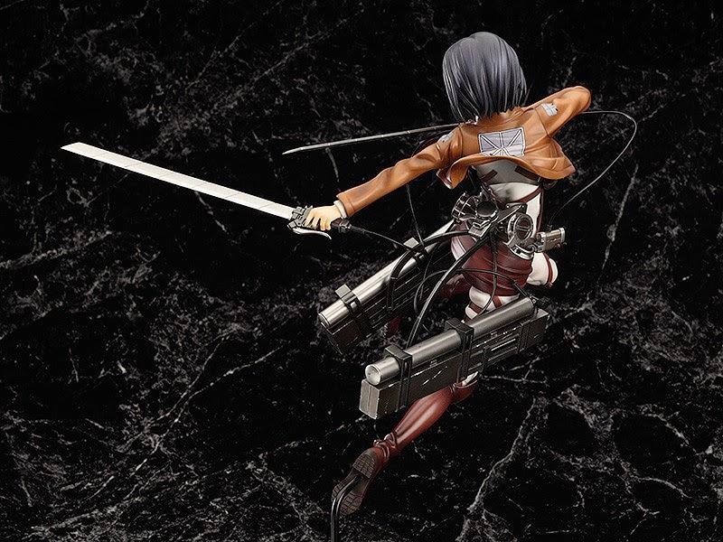 [ Info-Anime ] Figure Terbaru Mikasa Ackerman Yang Akan Menebas Para Titan