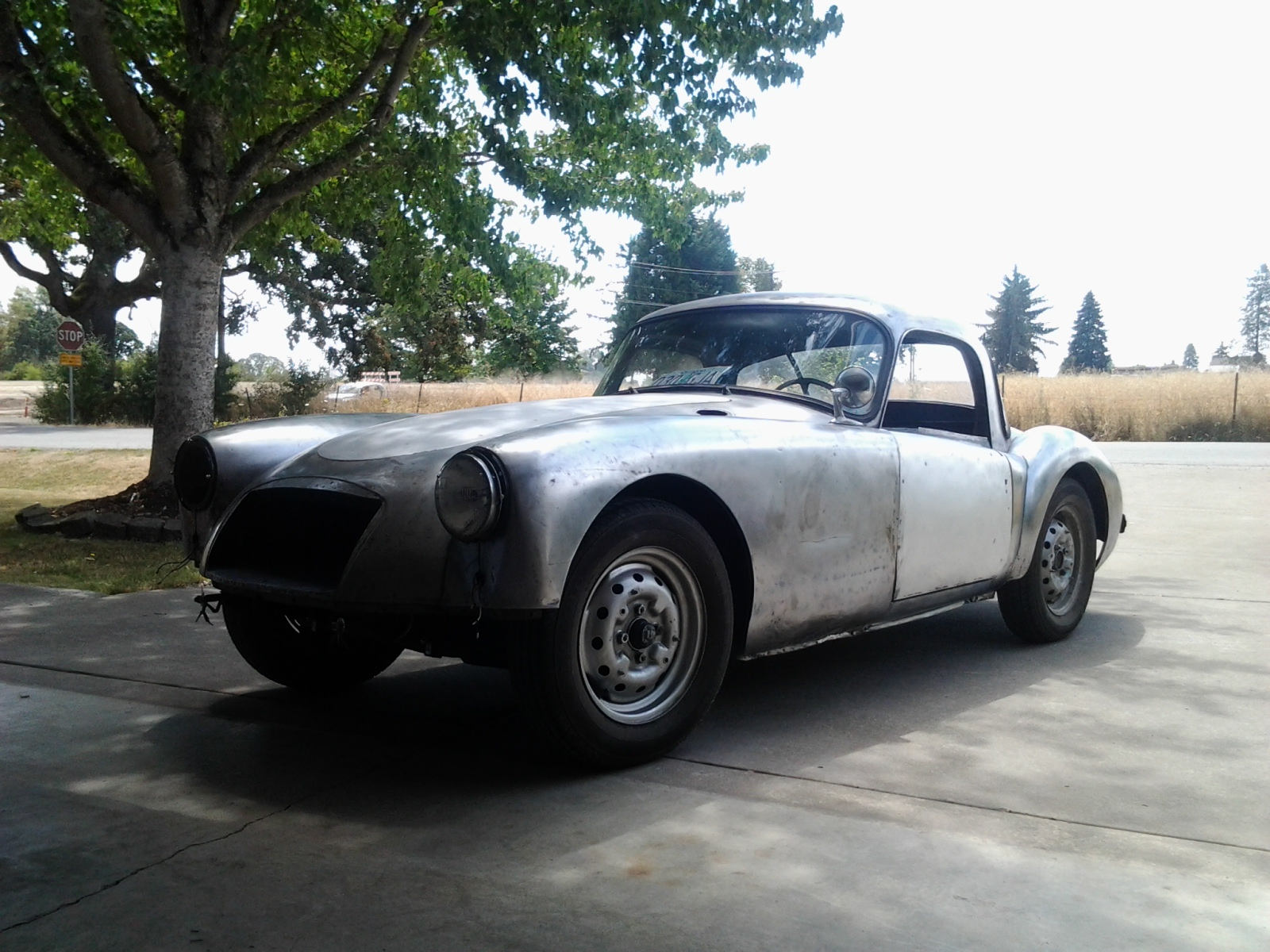 1958 MGA Restoration - Chronicles of a Budget Classic Car Restoration