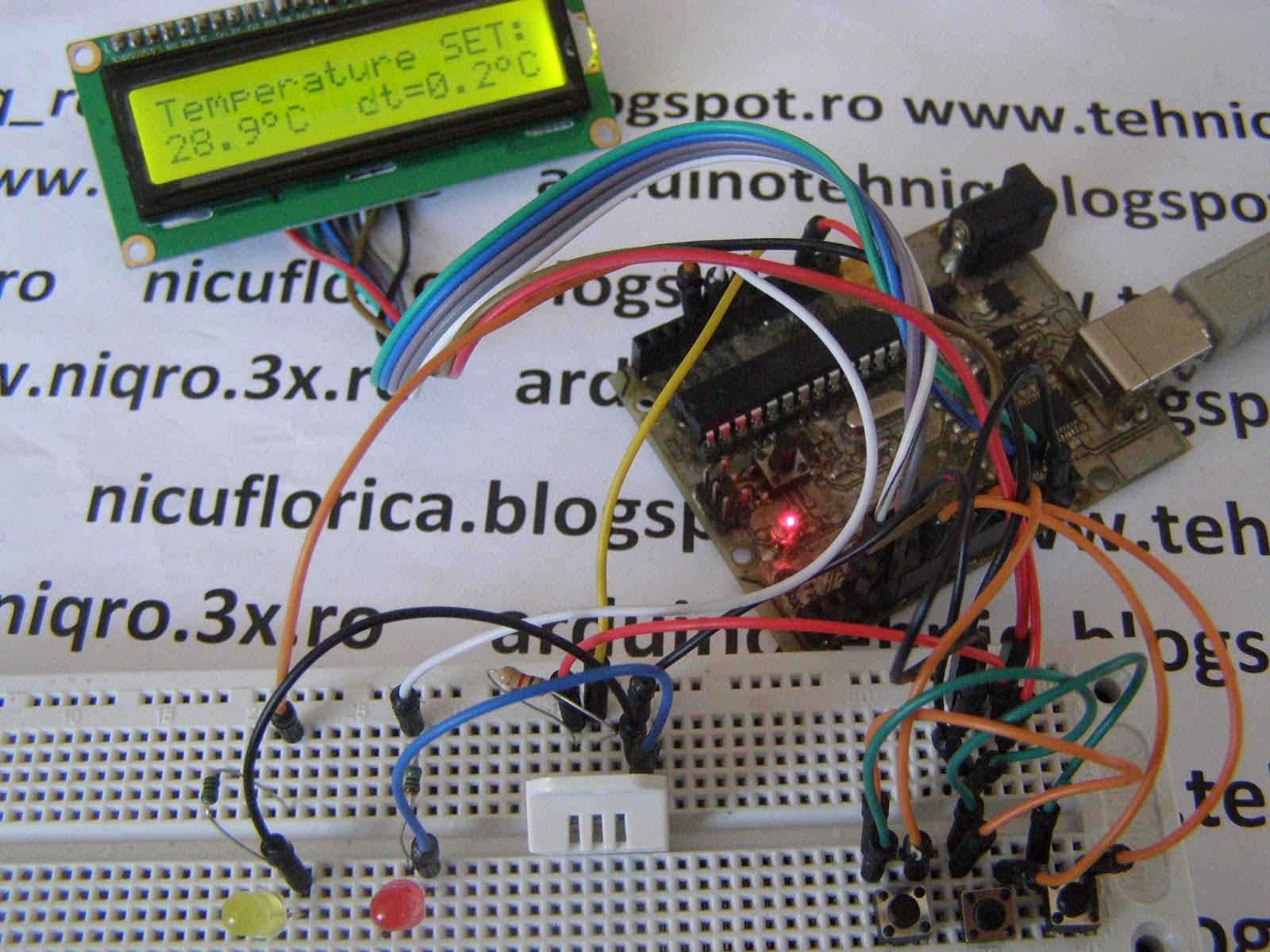Nicu Florica Niq Ro August 2015 Circuit Pic16f628 Rf Remote Buton 433mhz Button Reglaj Interval Acceptat De Scadere A Temperaturii Odata Depasita Histerezis