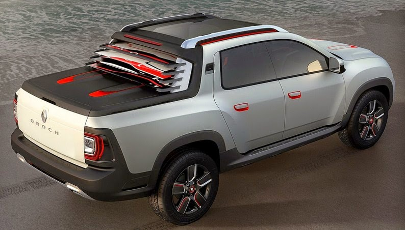 2015 Renault Duster Pick-Up rear view
