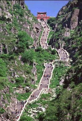 Taishan bjerget i Kina