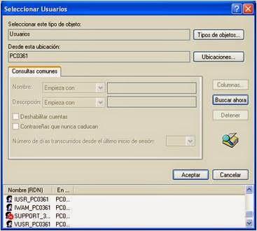 Soporte tecnico a distancia conexion de escritorio remoto en sistema operativo windows xp - Conexion a escritorio remoto windows xp ...