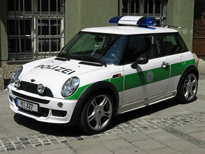 Mini Police Car