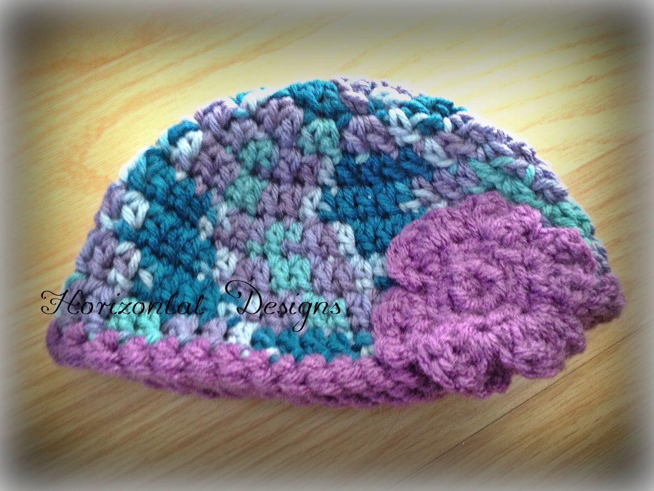 Studio Create: FREE CROCHET PATTERN: Bohemian Baby Hat