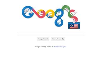 Google Doodle Malaysia PRU13
