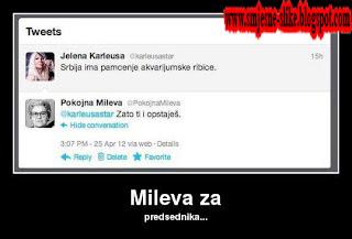 Jelena Karleuša i pokojna Mileva
