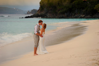 St. John beach weddings