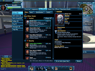 Star Trek Online - Duty Officers