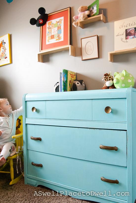 eal Dresser in Nursery // www.aswellplacetodwell.com