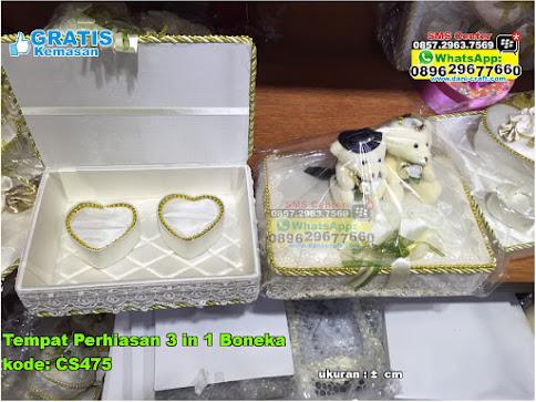 Tempat Perhiasan 3 In 1 Boneka