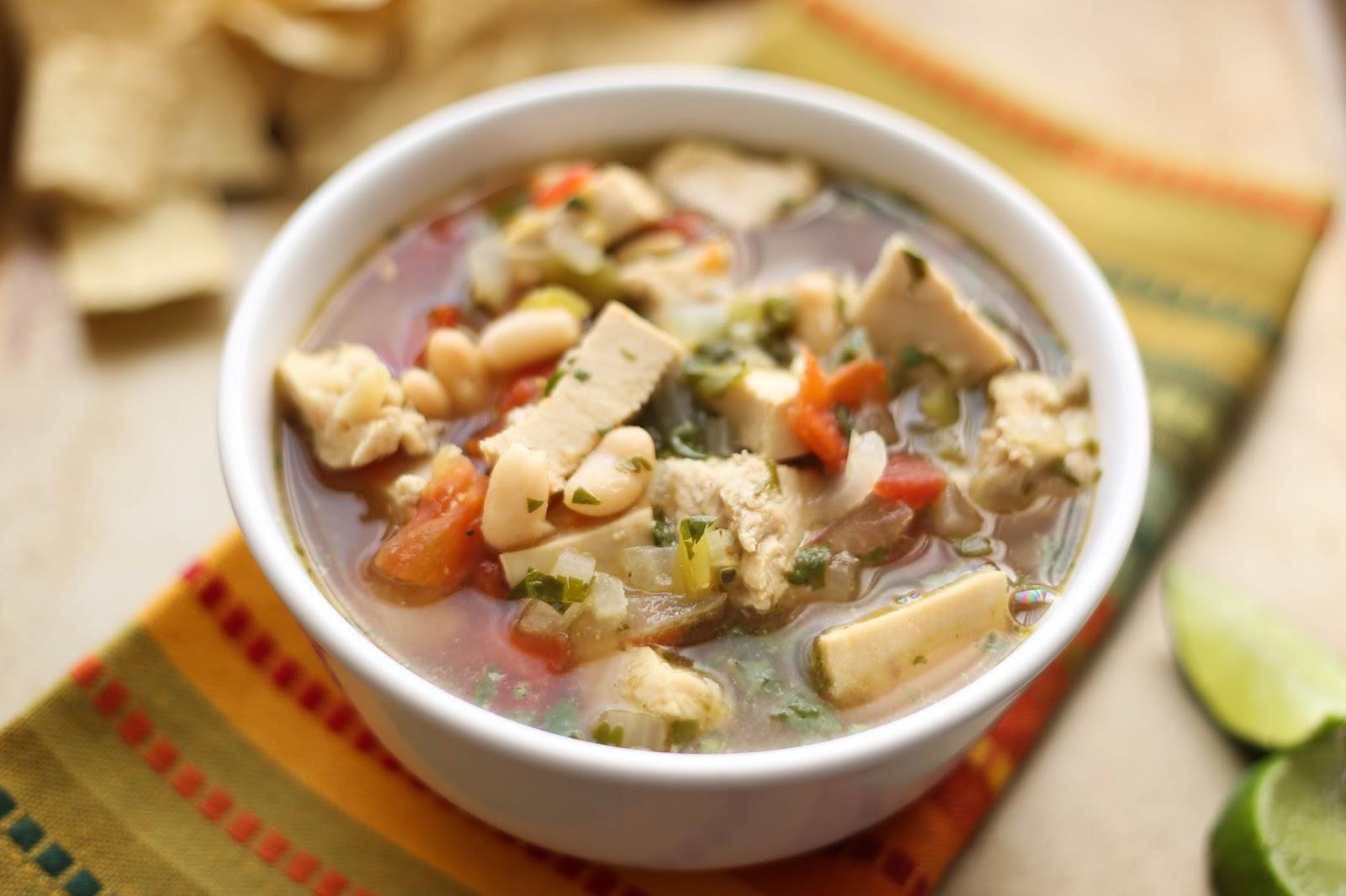 Barefeet In The Kitchen: Chicken Tortilla Soup