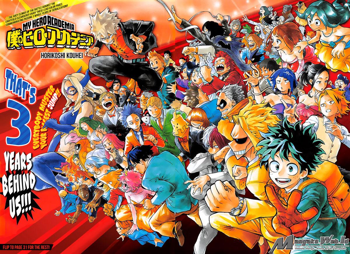 Boku no Hero Academia Chapter 146-1