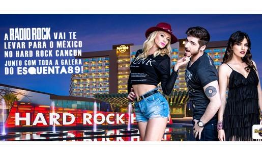 Participar da promoção rádio 89 FM Uma semana em Cancun