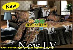 Harga Bedcover Set Signature New Lv Jual