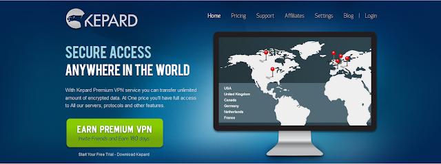VPN Gratis Dari Kepard
