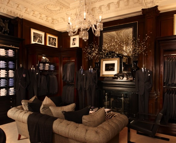 Unexpected interiors ralph lauren 39 s new york flagship store for Ralph lauren decoration