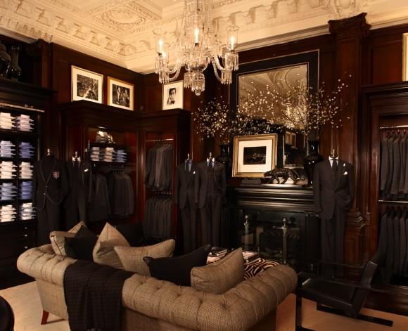 Unexpected Interiors Ralph Laurens New York Flagship Store