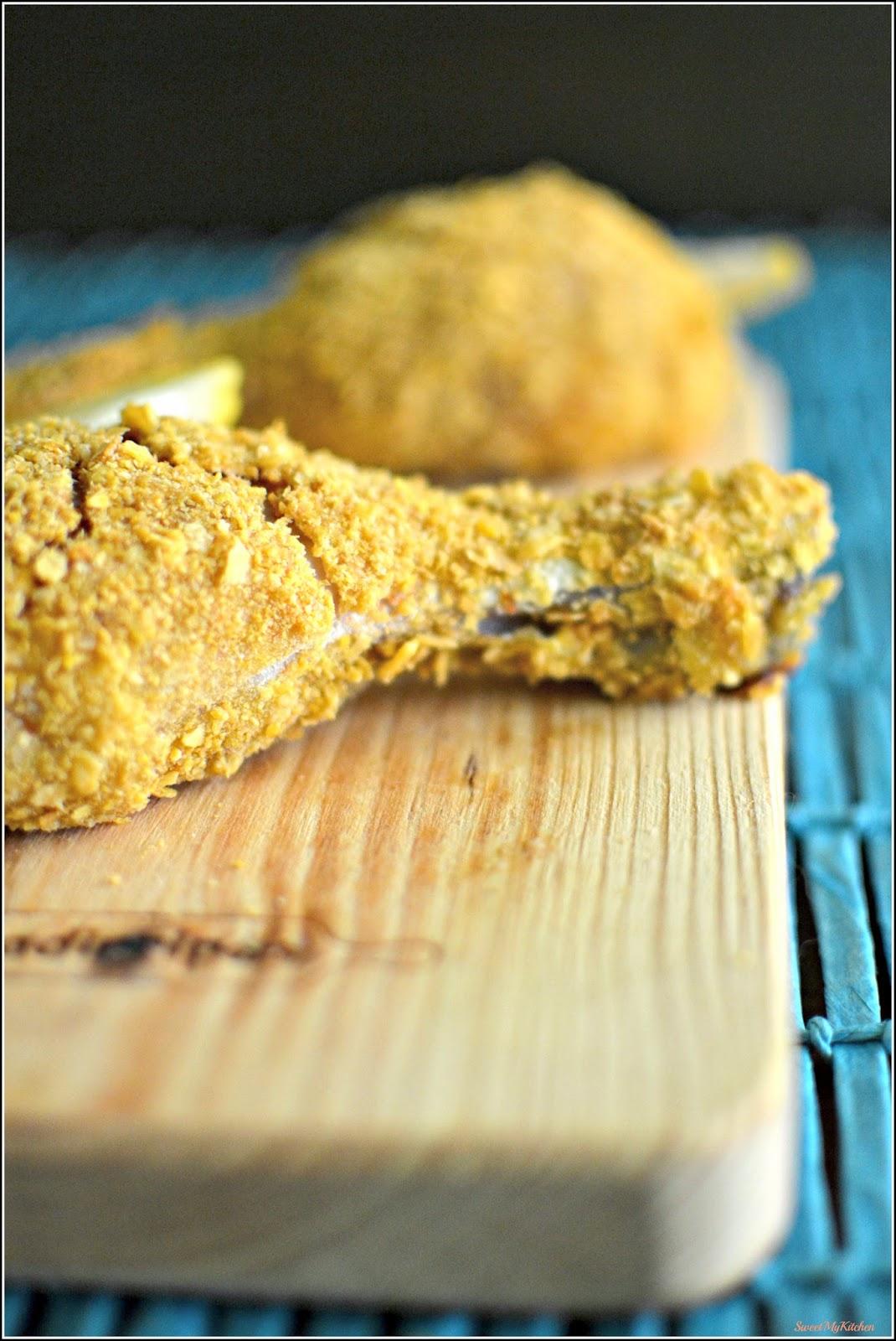 Fabuloso Sweet my Kitchen: Pernas de frango crocantes no forno CV33