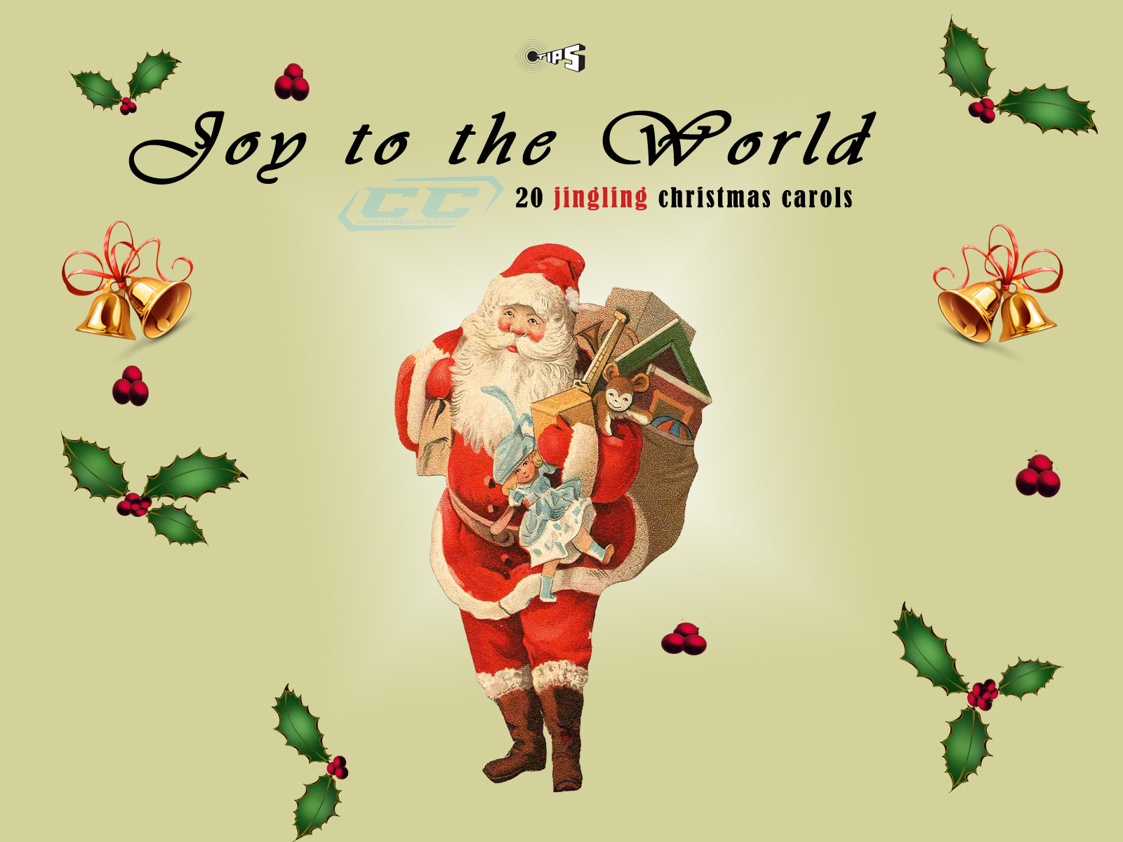 Joy to the World - 20 jingling Christmas Carols Download ...