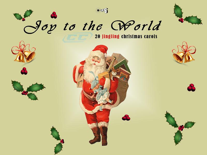 joy to the world 20 jingling Christmas carols