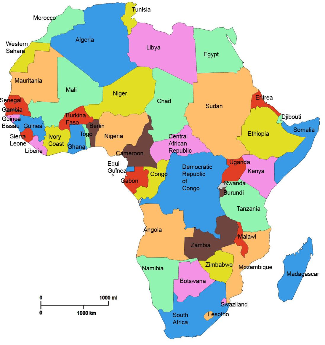 Afrika ya ihracat fırsatı