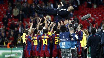 Guardiola entrenador del Barcelona
