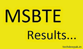 MSBTE SUMMER 2015 RESULT