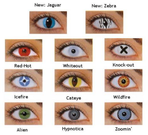 cheap halloween contact lenses for halloween night