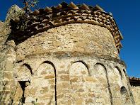 L'absis de Sant Pere de Vallhonesta