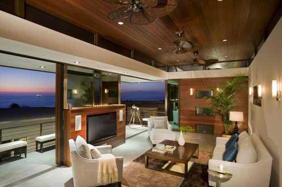 desain ruag keluarga rumah minimalis
