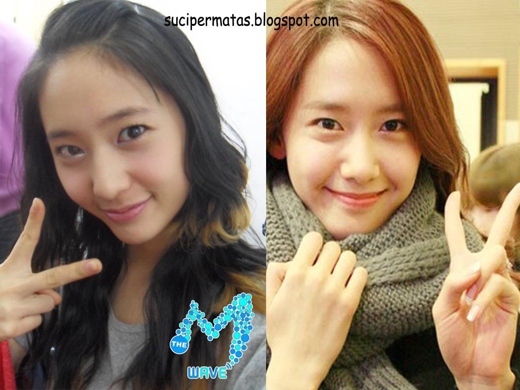 Suci Permata Sari: Krystal f(x) Look Alike Yoona (SNSD) Krystal Jung And Yoona Look Alike