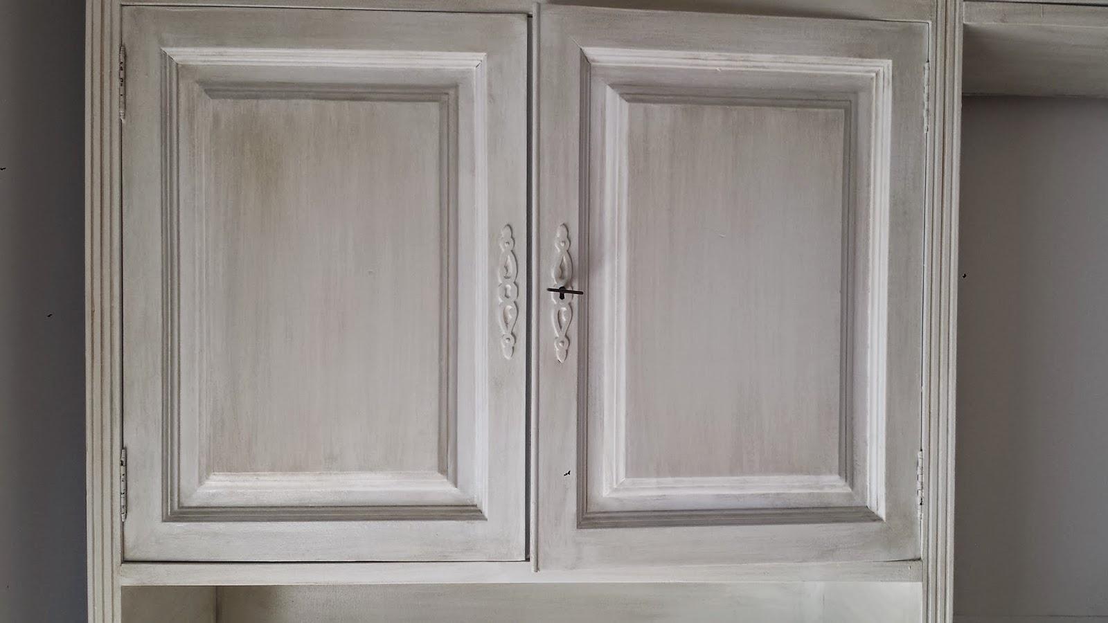 Candini muebles pintados nuevos y redecorados muebles - Mueble blanco decapado ...