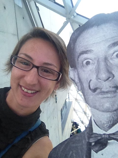 Selfie with Dali