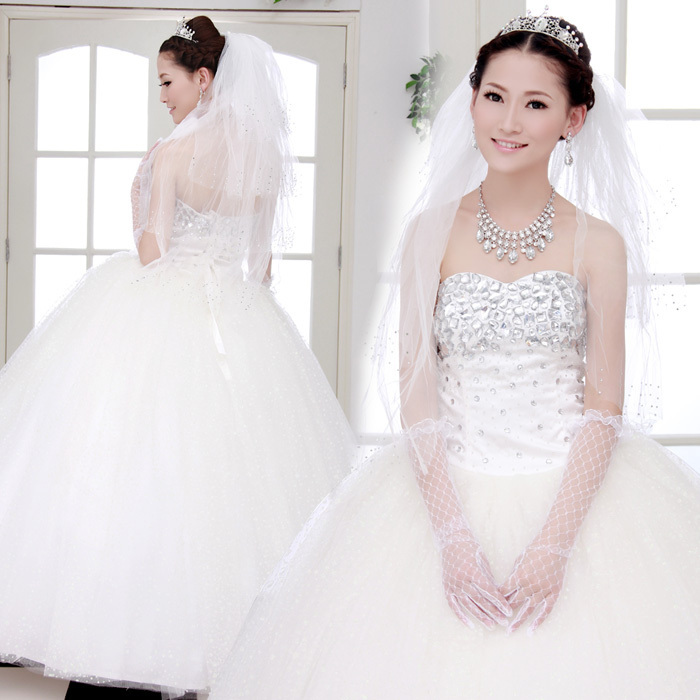 Wedding Dresses Without Bling : Bling dress wedding light up your charm
