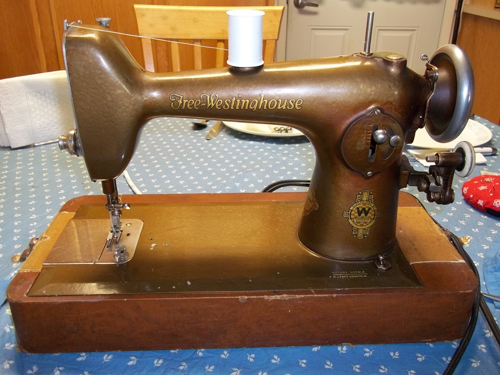 westinghouse new home sewing machine