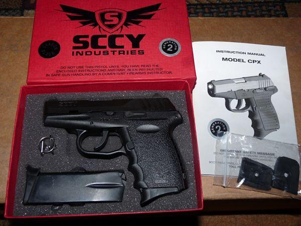 SCCY CPX-2 nueva