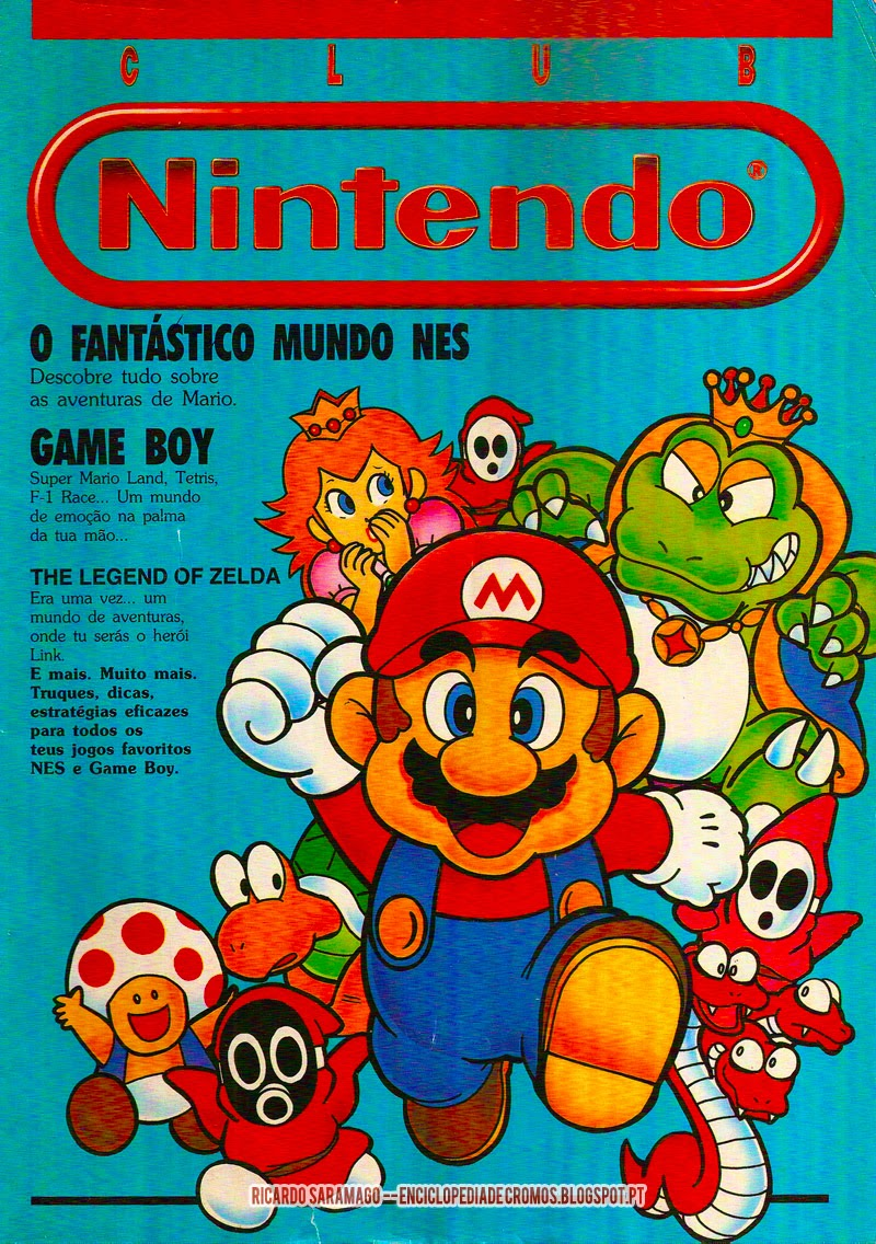 O Fantástico Mundo NES, Game Boy, The Legend Of Zelda, Truques, dicas,Link, Mario, Tetris, Super Mario Land, F-1 Race,