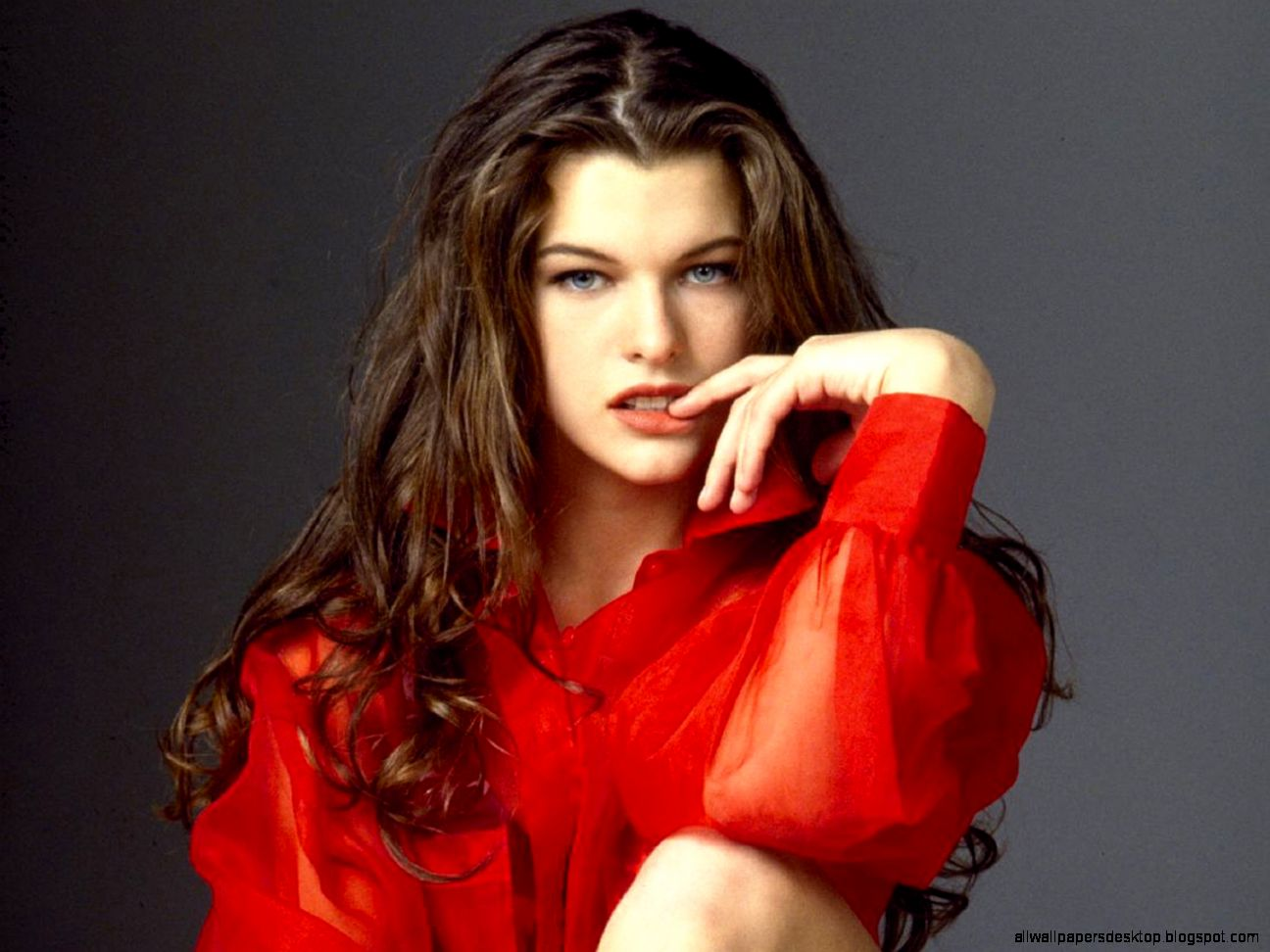Celebrity Milla Jovovich Actresses United States HD Beautiful