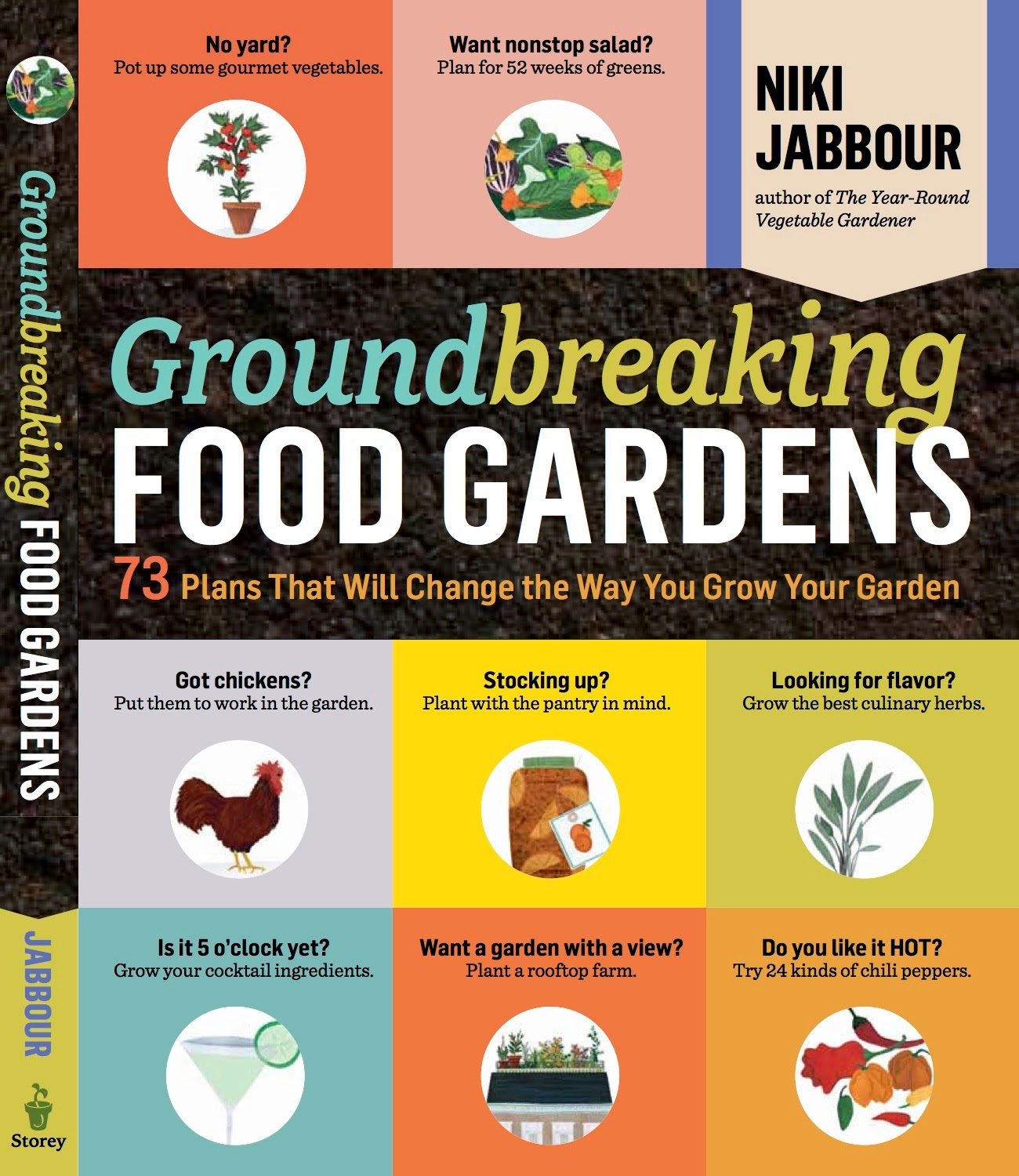Groundbreaking Food Gardens reviews in the LA Times!