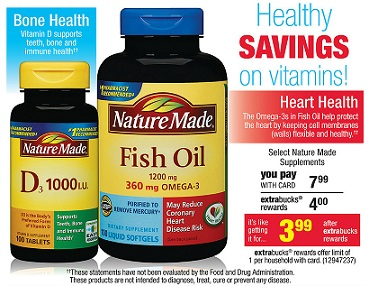 Hot 2 1 nature made fish oil coupon only reg 7 for Cvs fish oil