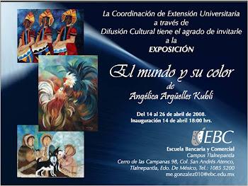 """Exposición """"El Mundo y su Color"""""""