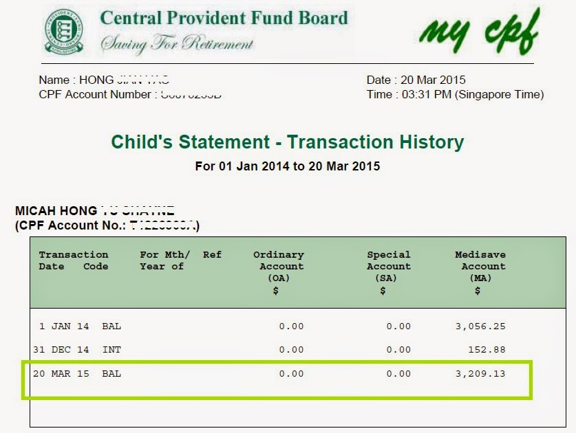 how to get cpf statements