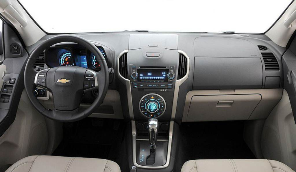 2015 Chevy Chevrolet Trailblazer   Car Interior Design