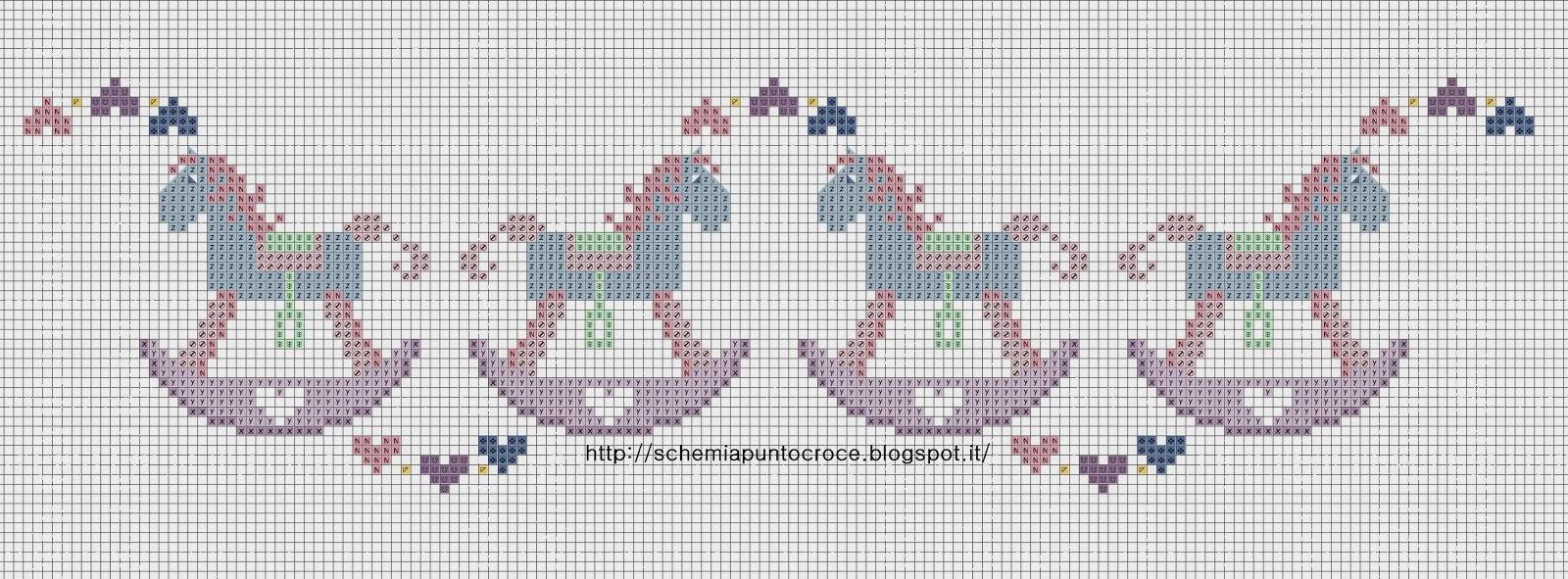 Schemi punto croce lenzuolini neonati cl49 regardsdefemmes for Punto croce immagini