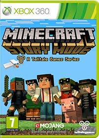 Minecraft Story Mode solo el primer capitulo, los restantes se descargan gratuitamente con el juego