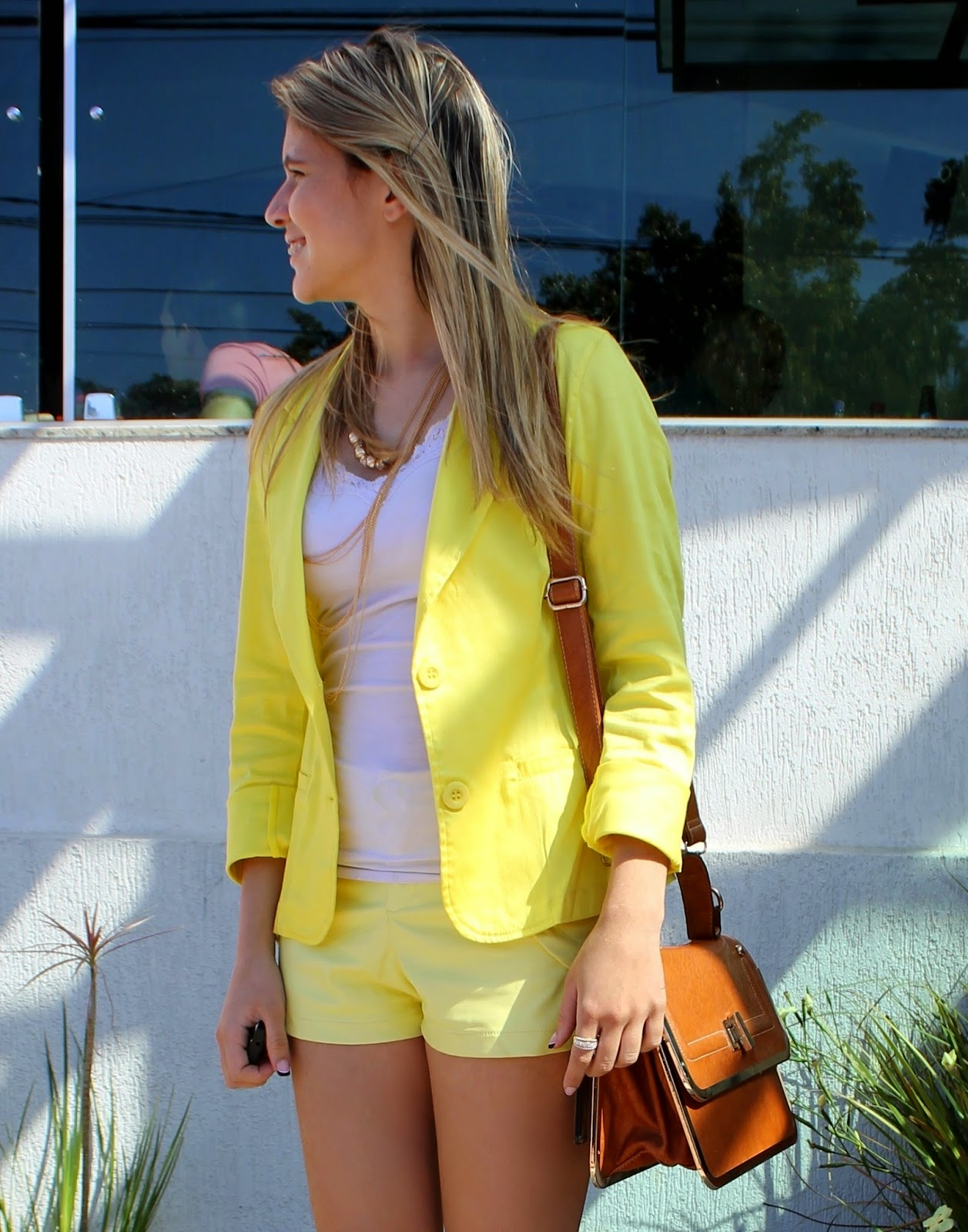 Look all yellow - Look de amarelo