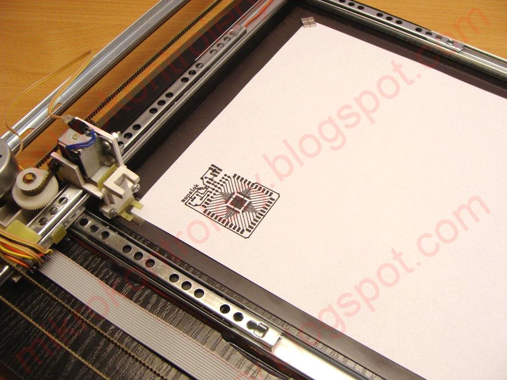 Test rysowania PCB
