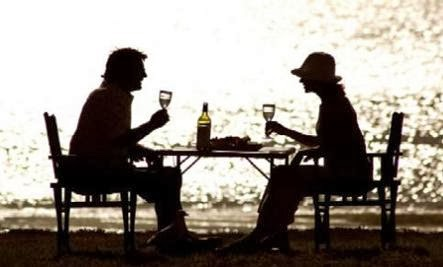 Hookups, S&M, and Modern American Sex  - first romantic date dinner sunset beach